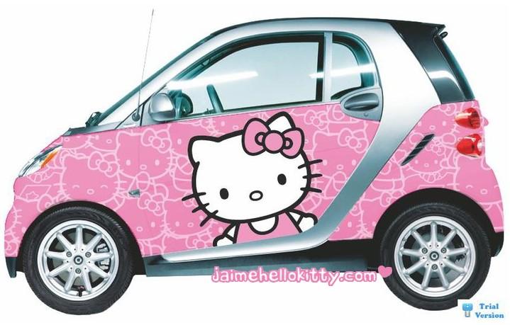 voiture kitty