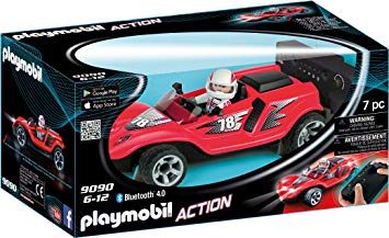 voiture playmobil telecommandee