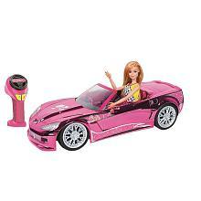 voiture radiocommandée barbie