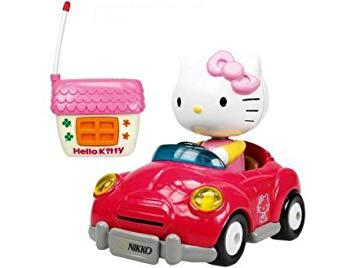 voiture radiocommandée hello kitty