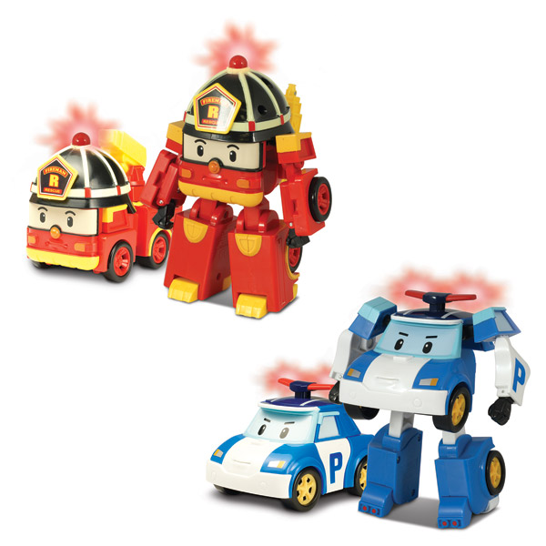 voiture robocar poli transformable