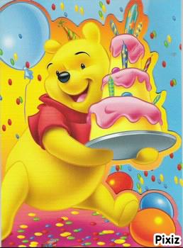 winnie l ourson joyeux anniversaire