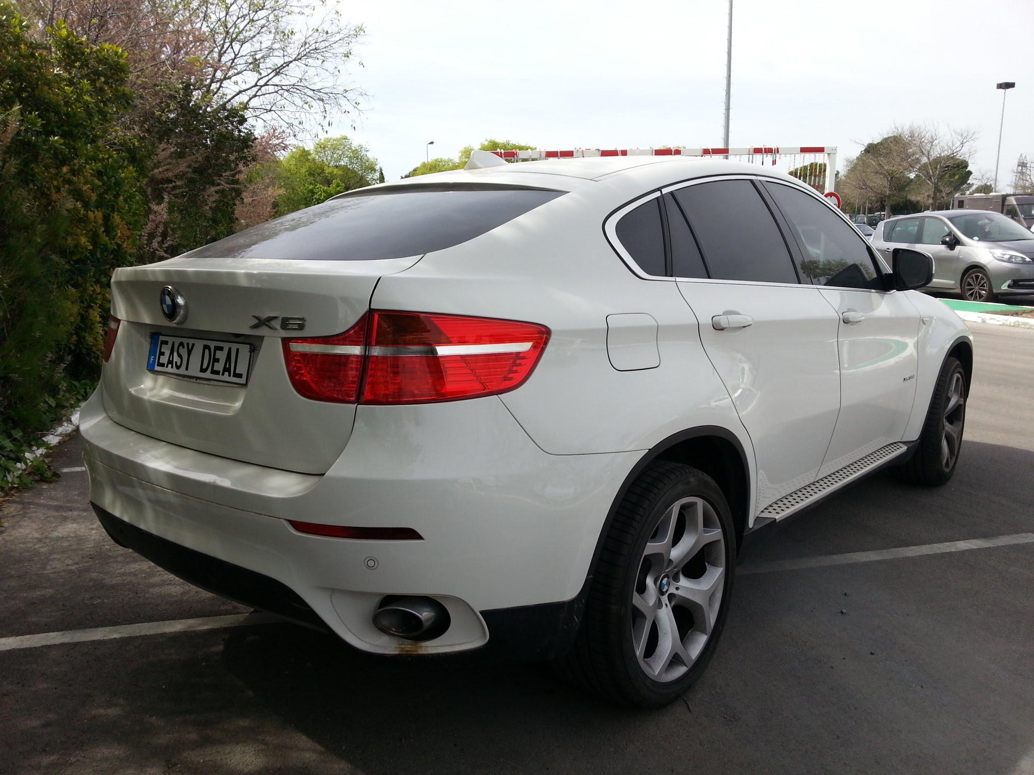 x6 bmw blanc