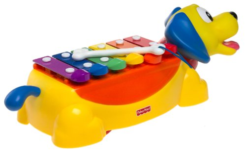 xylophone fisher price chien